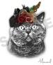 クラシックスタイル3/犬猫、ペットうちの子似顔絵