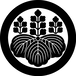 歴史コースター(戦国時代)豊臣秀吉 ー五七桐ー