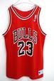 1990's USA製 Champion NBA シカゴブルズ マイケルジョーダン 23 レプリカユニフォーム メッシュタンクトップ 赤 表記(44) JORDAN BULLS