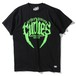 "RUDIE'S / ルーディーズ | "" TUSK TEE "" - BLACK/GREEN"