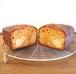 キャラメルと洋梨のパウンドケーキ 1台(パウンド型or丸型)