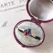 Ruby Sapphire Toi et Moi Ring