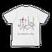マシュマロマローさん(甘いぞ!Tシャツ White)