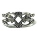 Navajo Vintage Sterling Silver Bangle by Morgan