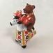 ディムコヴォ村の「トナカイに乗る熊さん」(ロシア民芸品) 0013