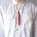 すおう染め革のペンとイヤホンのホルダー【ichi / いち】 #手縫い #草木染め革