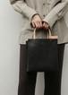 【9月入荷予定】20/80(トゥエンティーエイティー) レザーショッピングトートバッグ