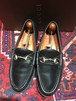 .GUCCI LEATHER HORSE BIT LOAFER MADE IN ITALY/グッチレザーホースビットローファー 2000000031507