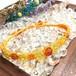 天然石のマクラメ編みブレスレット/クリオネtypeⅡ