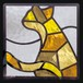 本物のステンドグラス ピュアグラス ステンドグラス (株)セブンホーム  SH-D41