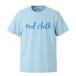 red clothロゴ & バックワンポイント / ライトブルー