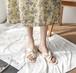 レディース サンダル クロスデザイン スタックドヒール スクエアトゥ 夏 履きやすい 美脚 脚長 きれいめ ベージュ 韓国