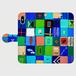 iPhoneX/8/8plus対応・受注制作*手帳型スマホケース/ なついろ
