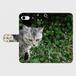 【手帳型スマホカバー】うちの猫「ヤンチャ」iPhone7
