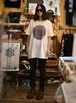 『Shimokitazawa』T-shirt White×Gray