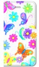 【iPhone5/5s/SE】 Butterflies Dance 蝶のダンス 手帳型スマホケース