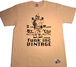 【在庫あり】 【funkキマグレ企画 第2弾Tシャツ】染み込みプリントナチュラルボディ✖ブラックインク