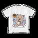 <白Tシャツ 正面>レジャーみーちゃん
