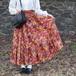 USA VINTAGE FLARE LONG SKIRT/アメリカ古着フレアロングスカート