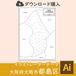 【ダウンロード】大阪市都島区(AIファイル)