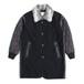 Military lining coat -Black