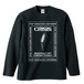 CRISIS(LONG SLEEVE) ブラック
