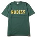 "RUDIE'S / ルーディーズ | "" COLLEGE-T "" - Green"