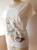 オリジナルデザイン白Tシャツ@シカ