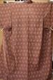 【USED】単衣・茶色の着物