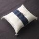 [送料無料]紺の布を挟んだ小さな和風リングピロー