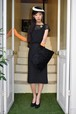 VINTAGE ALL LACE BLACK PENCIL DRESS