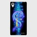 【Xperiaシリーズ】Blue Dragon of Wisdom 叡智の青龍 ツヤありハード型スマホケース