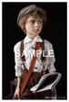 ポストカード「靴磨きの少年」B