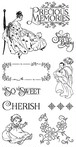 Graphic 45! Cling Stamp  Precious Memories 1