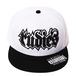 【RUDIE'S】SPARK SNAPBACK CAP  BLACK / WHITE&BLACK