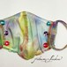ビジュー付ファッションマスク G-157