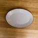 ラフェルム  スモークホワイト  31cm【楕円皿/プラター】