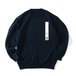 "SO ""CREPUSCULE"" TENJIKU LONG SLEEVE KNIT(Men's,NAVY)"