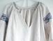 ウクライナ リネン刺繍ドレス ②