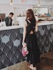 Black cross dress