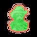 グレーのフェルト帽の自画像 0381