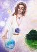 A4サイズ複製画 The Voice of Gaia - 地球(ガイア)の歌声