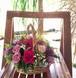 プリザーブドフラワー 花かご