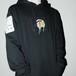 『SAU』 Softener hoodie Black