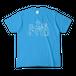 THE BAUM メンバーイラストカラーTシャツ(色:ターコイズ/オリーブ/杢グレー)