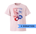 SAVE THE ZONE-B TシャツF + DONATION