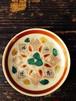 桐の図の小皿