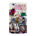 #016-008 iPhone8対応 クール系・ロック系 《ブレーメン~オリジナルキャラクター~》パターン1 iPhoneケース・スマホケース   作:nero Xperia ARROWS AQUOS Galaxy