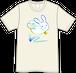 おばけTシャツ【とびうさ】青