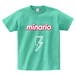 minario / SUMMER SEASON LOGO T-SHIRT MINT